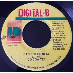 """Cocoa Tea - Can Not Be Real - Digital B 7"""""""