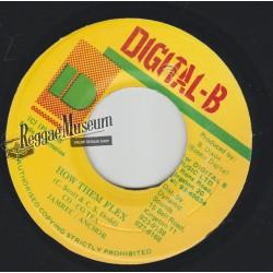 """Cocoa Tea - How Them Flex - Digital B 7"""""""