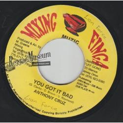"""Anthony Cruz - You Got It Bad - Mixing Finga 7"""""""