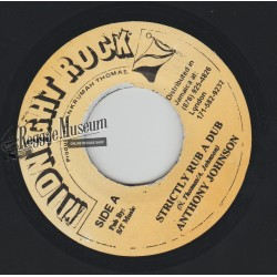 Anthony Johnson - Strickly Rub A Dub - Midnight Rock 7""
