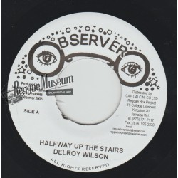 Delroy Wilson - Halfway Up The Stairs - Observer 7""