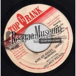 "Delroy Wilson - Kiss An Angel Good Morning - Top Rank 7"""
