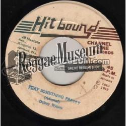 "Delroy Wilson - Play Something Pretty - Hit Bound 7"""