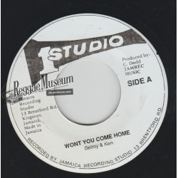 Delroy Wilson - Wont You Come Home - Studio 1 7""