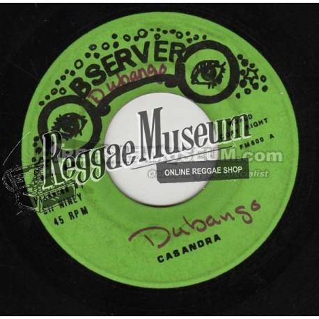 "Dennis Brown - Cassandra - Observer 7"""
