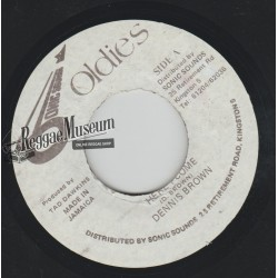 """Dennis Brown - Here I Come - Sonic Sounds Oldies 7"""""""