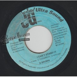 """Dennis Brown - I Cant Stand It - Joe Gibbs 7"""""""