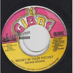 "Dennis Brown - Money In Your Pocket - Joe Gibbs 7"""