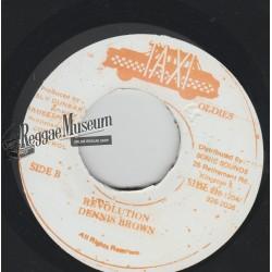 "Dennis Brown - Revolution - Taxi 7"""