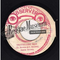 """Dennis Brown - Traveling Man - Observer 7"""""""