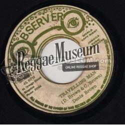 """Dennis Brown - Travelling Man - Observer 7"""""""