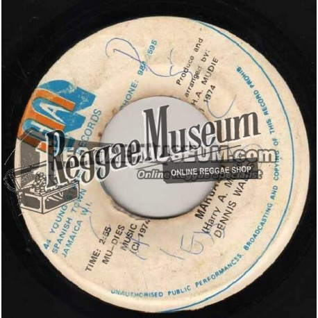 Dennis Walks - Margaret - Harry Mudie 7""