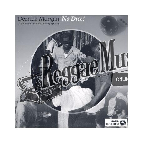 Derrick Morgan - No Dice - Reggae Retro LP