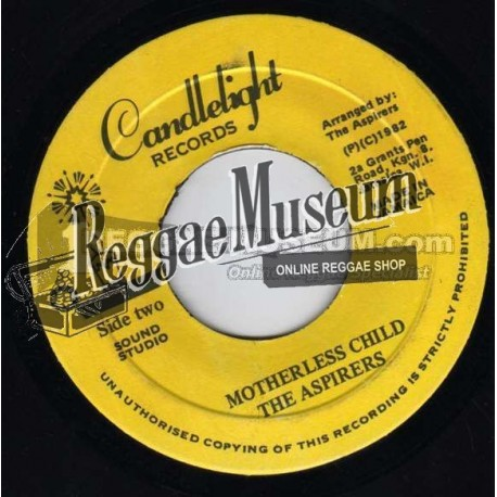 Aspirers - Motherless Child - Candlelight 7""