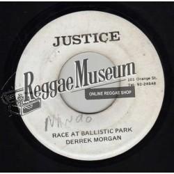 """Derrick Morgan - Race At Ballistic Park - Justice 7"""""""