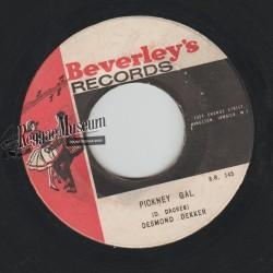 """Desmond Dekker - Pickney Gal - Beverleys 7"""""""