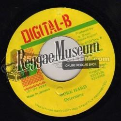 "Determine - Work Hard - Digital B 7"""