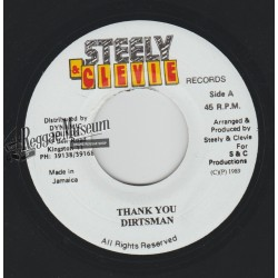 """Dirtsman - Thank You - Steely & Cleevie 7"""""""