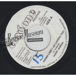 Dobby Dobson - Seems I Am Losing You - Coxsone 7""