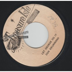 Don Drummond - Let George Do It - Treasure Isle 7""