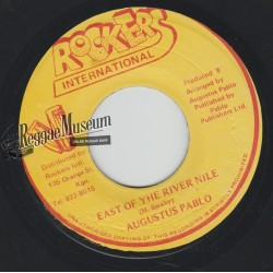 Augustus Pablo - East Of The River Nile - Rockers 7""