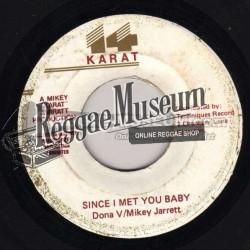 """Donna V & Mickey Jarret - Since I met You Babe - 14 Karat 7"""""""