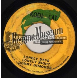Donny Diamond - Lonely Days Lonely Nights - Kool Cat 7""