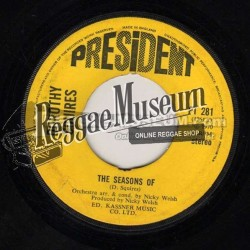 Dorothy Squires - The Seasons Of - President 7""