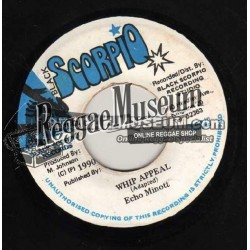 Echo Minott - Whip Appeal - Black Scorpio 7""
