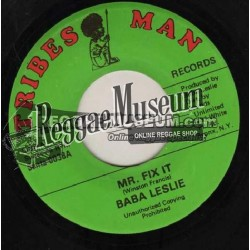 Baba Leslie - Mr Fix It - Tribes Man 7""