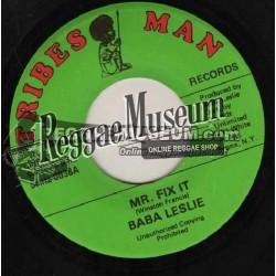"Baba Leslie - Mr Fix It - Tribes Man 7"""