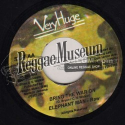Elephant Man - Bring The War On - VeryHuge 7""