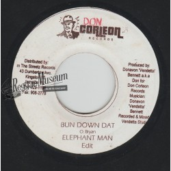 Elephant Man - Bun Down Dat - Don Corleon 7""
