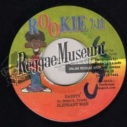 Elephant Man - Dainty - Rookie 7""