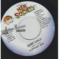Elephant Man - Genie Dance - High Society 7""