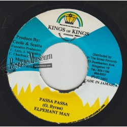 Elephant Man - Passa Passa - Kings Of Kings 7""