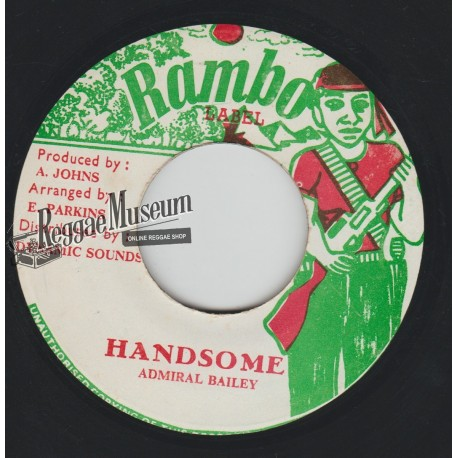 Admiral Bailey - Handsome - Rambo 7""