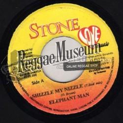 "Elephant Man - Shizzle My Nizzle - Stone Love 7"""