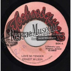 Ernest Wilson - Love So Tender - Techniques 7""