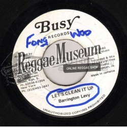 Barrington Levy - Lets Clean It Up - Busy 7""