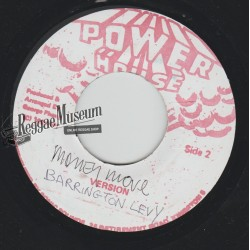Barrington Levy - Money Move - Power House 7""