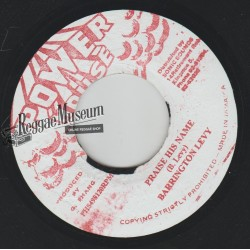 Barrington Levy - Praise His Name - Power House 7""
