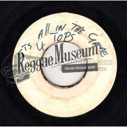 Four Tops - Its All In The Game - blank 7""