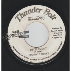 """Frankie Jones - Settlement - Thunder Bolt 7"""""""