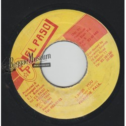 Frankie Paul - I Miss You - El Paso 7""