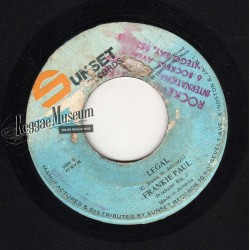 Frankie Paul - Legal - Sunset 7""