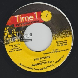 """Barrington Levy - Two Sounds - Time 1 7"""""""