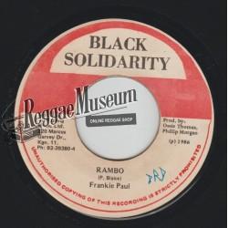 """Frankie Paul - Rambo - Black Solidarity 7"""""""