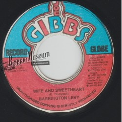 "Barrington Levy - Wife And Sweetheart - Joe Gibbs 7"""