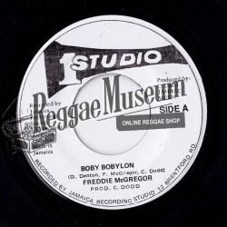 "Freddie McGregor - Boby Bobylon - Studio 1 7"""